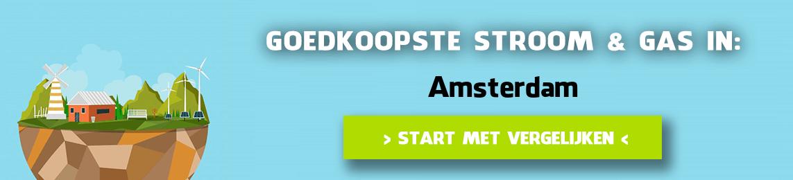 energie vergelijken Amsterdam
