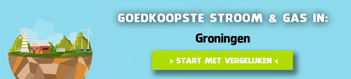 energie vergelijken Groningen